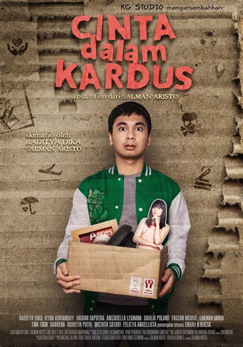 youtube film raditya dika cinta dalam kardus cinta dalam kardus movie poster imp awards