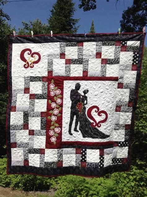 Wedding Quilt Patterns by From This Moment A Wedding Quilt Patchwork Quilting