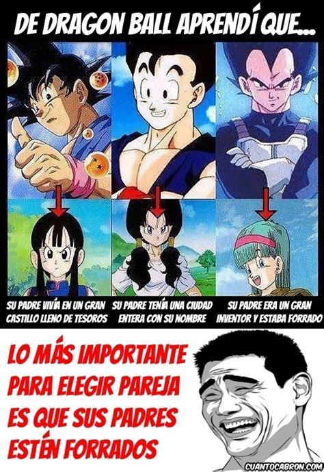 Imágenes cómicas de DBZ: la saga de memes   Taringa!
