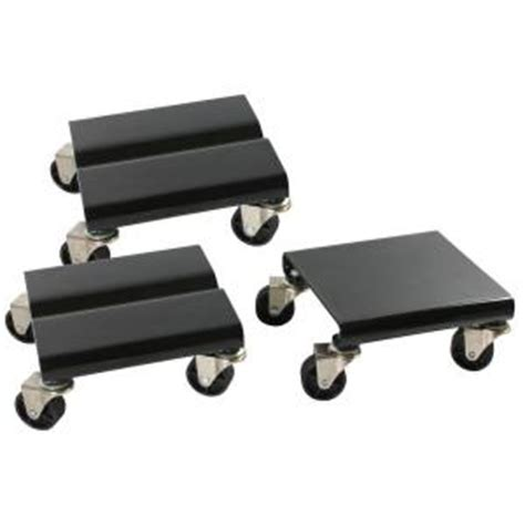 sportsman 1500 lb capacity steel snowmobile dolly set