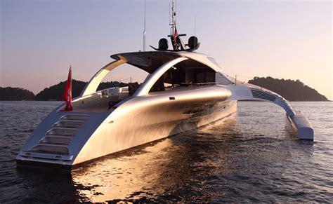 trimaran pik superyacht adastra by john shuttleworth yacht designs