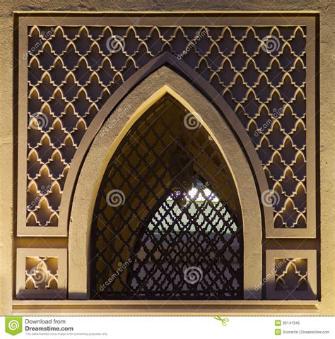 pattern window frame islamic pattern window royalty free stock photo image