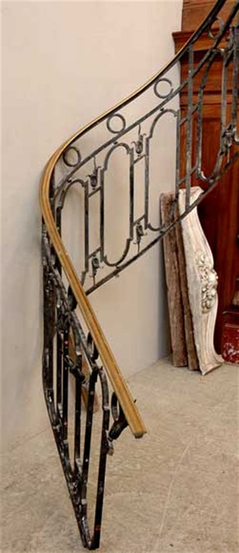 cast iron banister cast iron banister with brass hand rail stairs and banisters