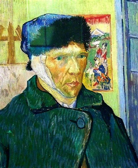 vincent gogh autoportrait 224 l oreille 233 e flickr