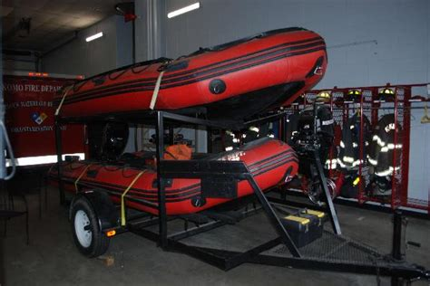 small boat used in emergencies main station 1