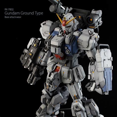 Gundam Attack custom build mg 1 100 ground type gundam quot base attack