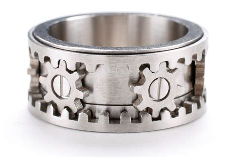Wrap Your Pasty Fingers Around These Gear Rings From