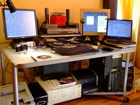 Computer Desk Set Up Computer Desk Set Up Diageo Hotline Poll