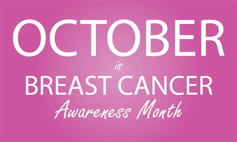 October Is Breast Cancer Awareness Month 3 by The Oachc Informer Breast Cancer Awareness Month