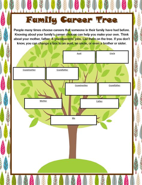 Career Day Worksheets by Tricks Of The Teaching Trade Career Day