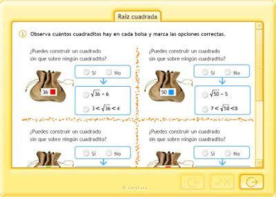 raiz cuadrada de 68 5 186 y 6 186 educaci 243 n primaria ra 205 z cuadrada