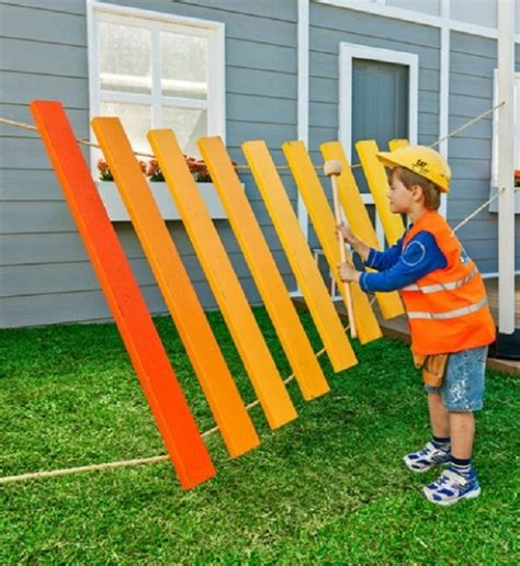 Backyard Xylophone 30 Impressive Backyard Diy Projects For Summer Our Daily