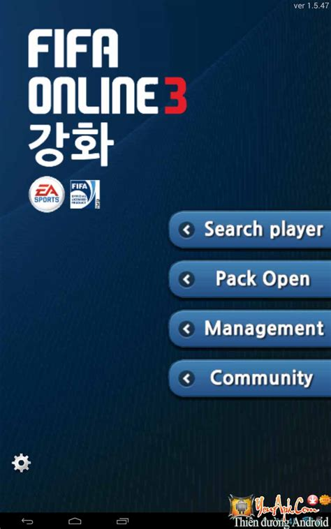 game fifa mod cho android fo3 strengthen mod tiền game fifa online 3 cho android