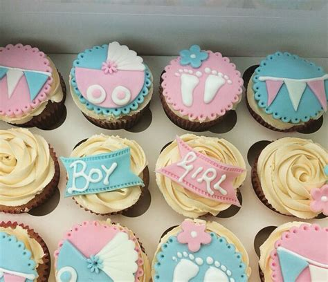 unisex baby shower cupcakes 4033 best 1 2 cup cakes mini bolos 237 sticos images on