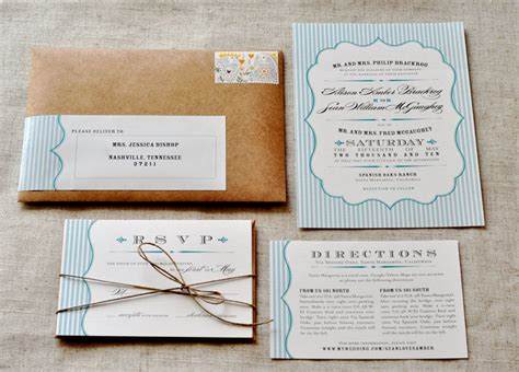 diy invitations ideas handmade rustic wedding invitation ideas