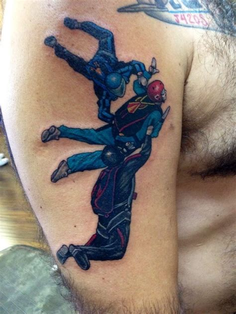 skydiving tattoos 29 best skydive ideas images on tandem