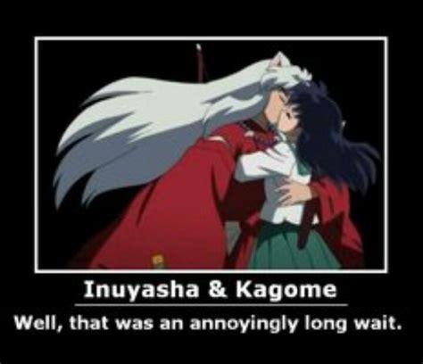 Inuyasha Memes - inuyasha and kagome kiss meme inuyasha pinterest the