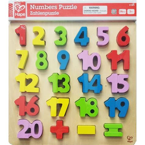 Puzzle Number numbers 1 20 early math puzzle educational toys planet