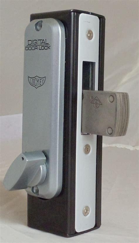 door deadbolt lockey 2900dc keyless mechanical digital mortised deadbolt