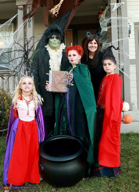 hocus pocus sanderson sisters costumes