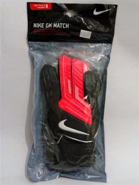 Sarung Tangan Kiper Futsal Nike sarung tangan kiper nike gk match black white gudang