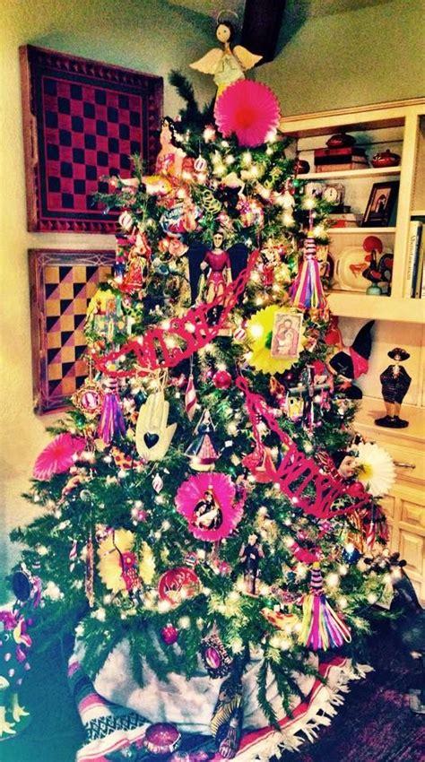 festive mexican christmas tree   spiritual style pinterest trees christmas trees