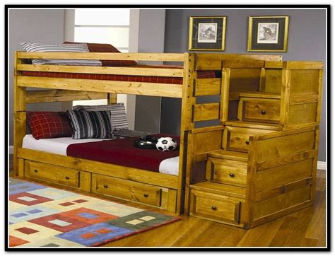 bunk bed with stairs and storage bunk bed with storage stairs loft bed with stairs