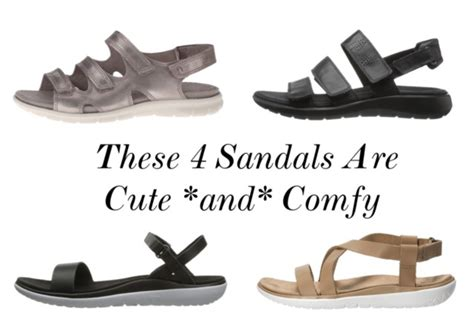 most comfortable sandals for the sparkly the 4 most comfortable sandals