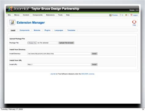 Joomla Template Development Joomla Template Developer