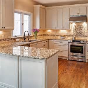 Kitchen Peninsula Design Giallo Napoli Granite Kitchen Pinterest Photos