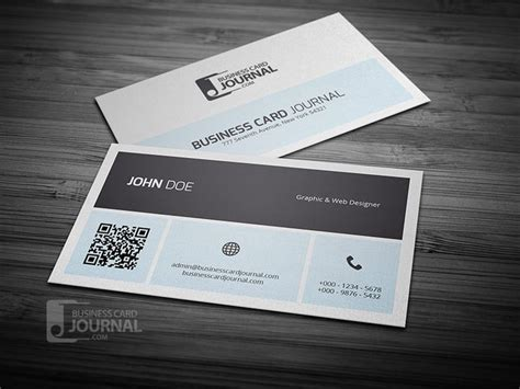 Free Business Card Template With Qr Code best 25 qr code business card ideas on sle