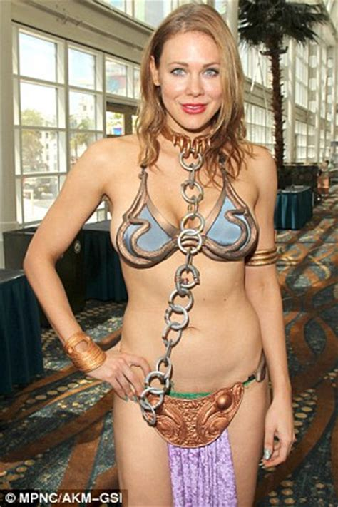 star wars meets the fifth element! maitland ward flashes