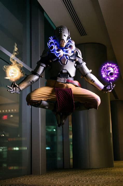 discord zenyatta harmony and discord zenyatta overwatch cosplay by