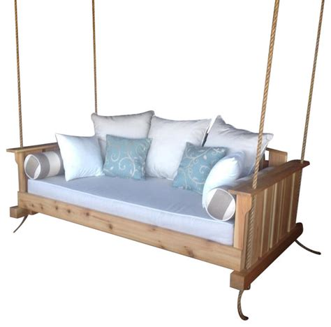 bed with swing lowcountry swing beds porch swing the quot daniel island