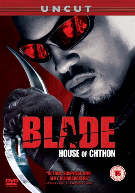 Blade House Of Chthon by News Blade House Of Chthon Uk Dvd R2 Dvdactive