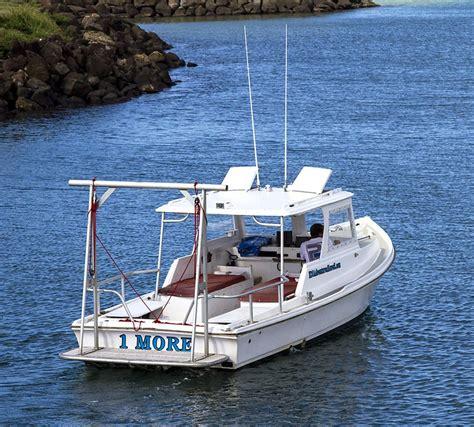 boat stern pics north shore charter boat foxy lady quot the seeker quot oahu