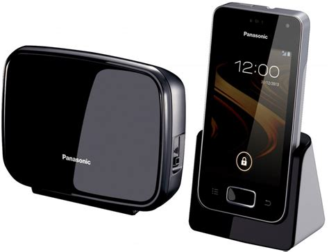 panasonic reveals android powered home phone wait what - Android Home Phone