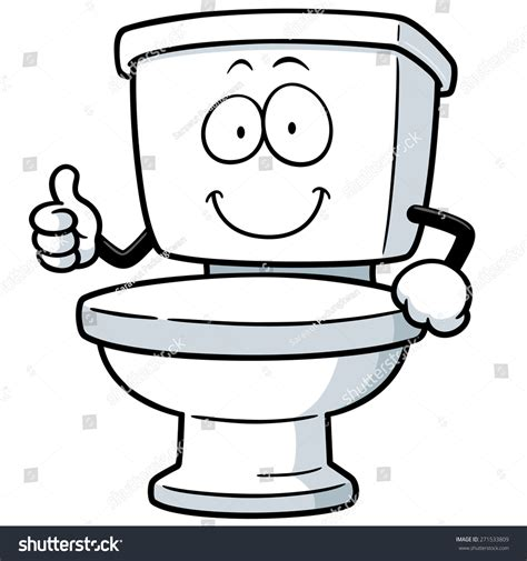drawing images for vector illustration toilet stock vector 271533809