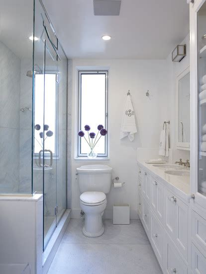 narrow bathroom ideas 27 small and functional bathroom design ideas