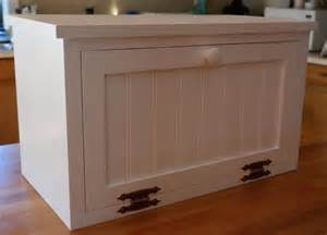 Kitchen Countertop Storage Bread Box Spice Storage Kitchen Storage Beadboard Countertop
