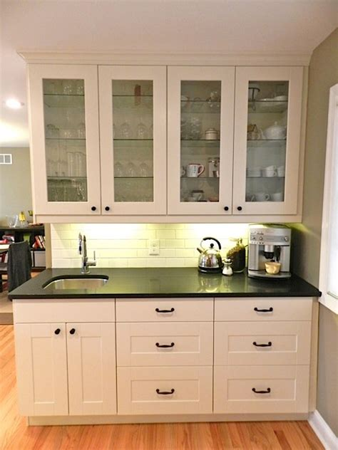 wet bar cabinets ikea ikea adel white in princeton nj traditional new york