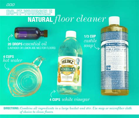 natural household dyi cleaners