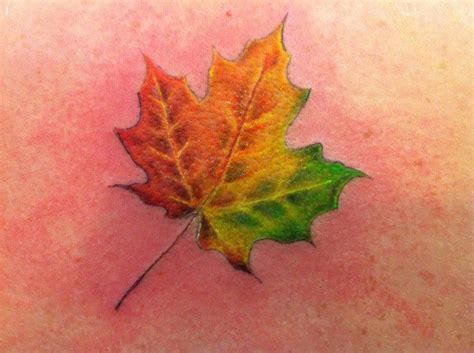 fall leaf tattoo 42 best fall leaves images on autumn