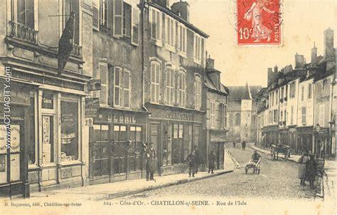 cartes postales anciennes de ch 226 tillon sur seine 21400