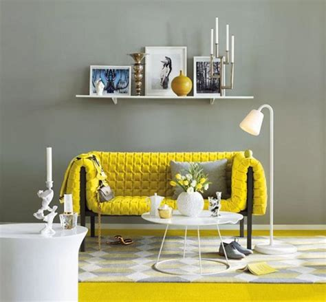 yellow and grey room yellow living room designs