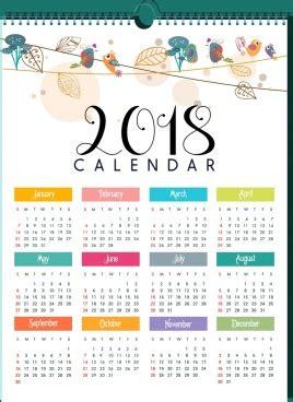 2018 calendar vector free vector download (1,548 free