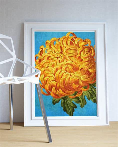 Flower Kitchen Decor by Chrysanthemum Decor Chrysanthemum Chrysanthemum Gift