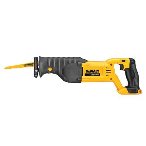 shop dewalt 20 volt variable speed cordless reciprocating saw bare tool at lowes com