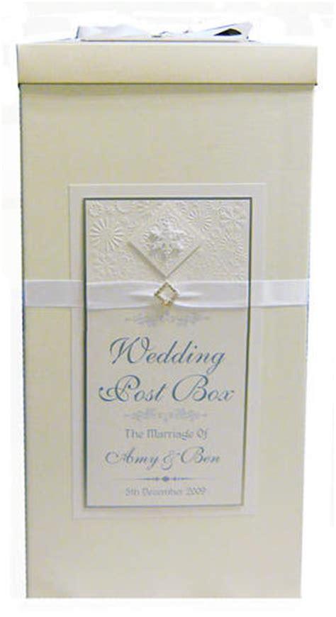 Wedding Post Box Wording by Brambles Wedding Stationery Post Box 02