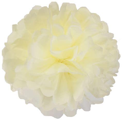 Make Tissue Paper Pom Poms - tissue paper pom pom 12inch buttercream